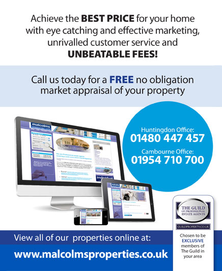 Malcolms Estate agents Cambourne