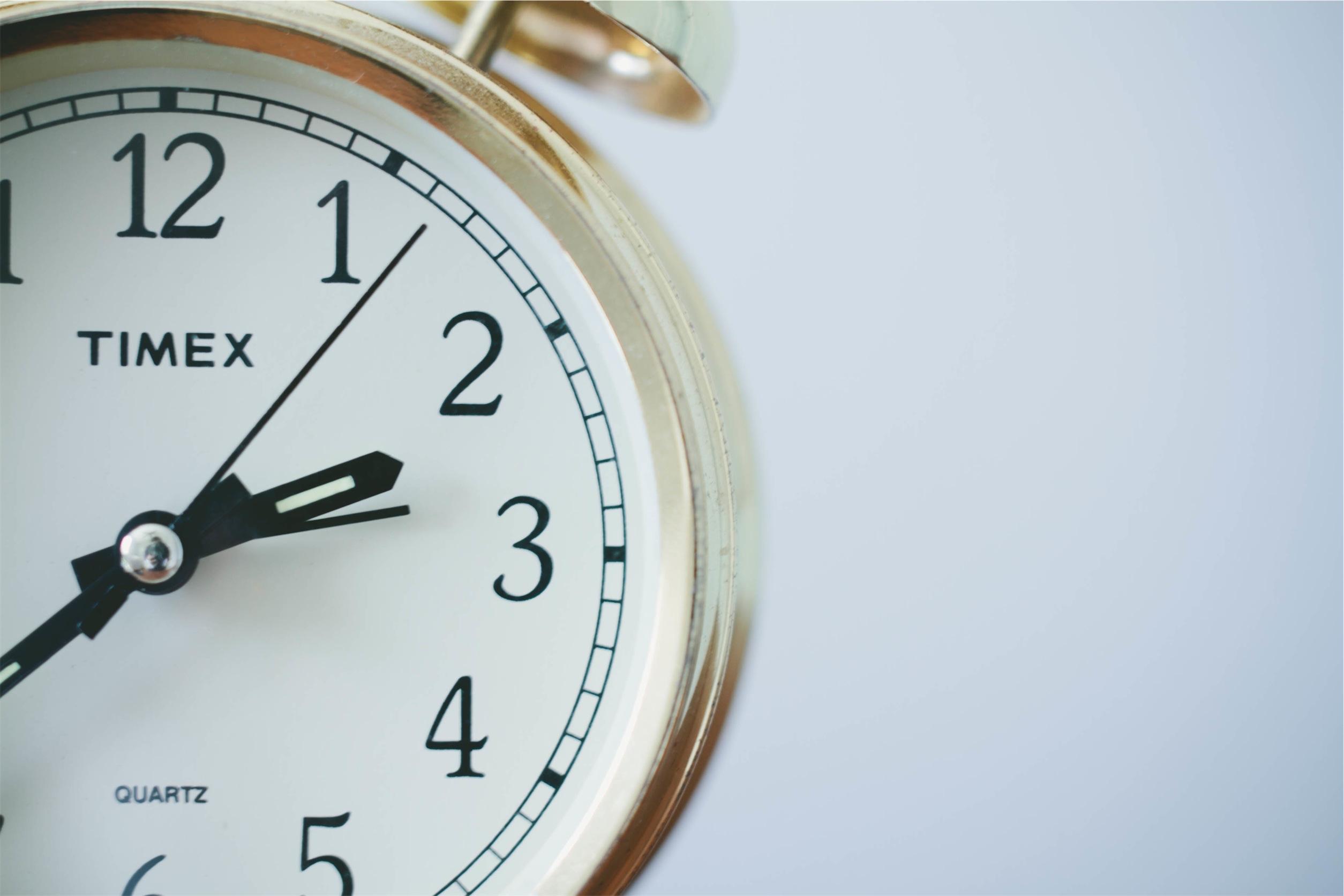 Half a clock