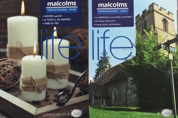 Two lifestyle magazines