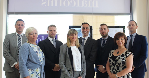 The staff at Malcolms Estate Agency