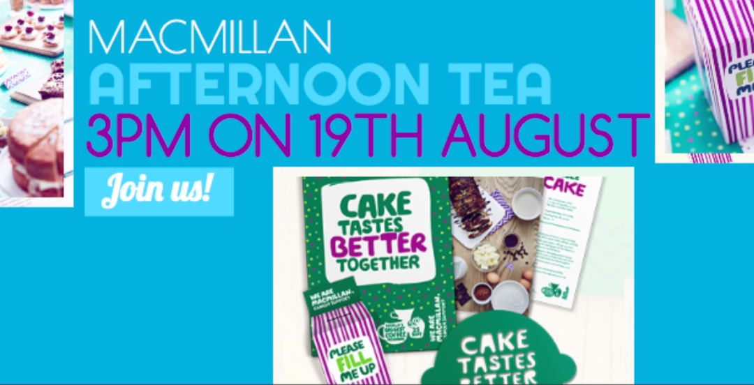 Macmillan Afternoon Tea